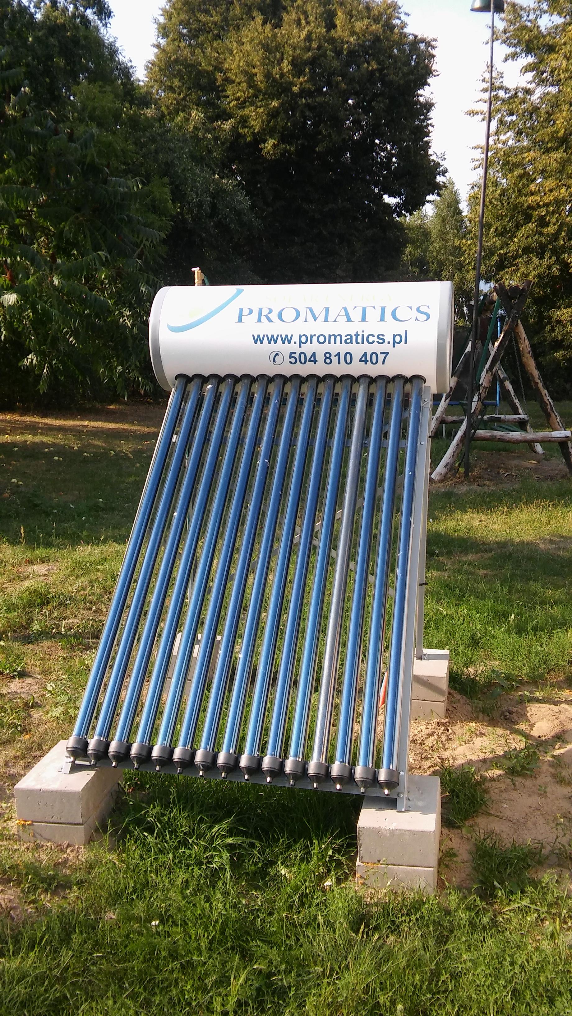 Montaż zestawu solarnego Unite – Kolonia Horbów gm. Zalesie