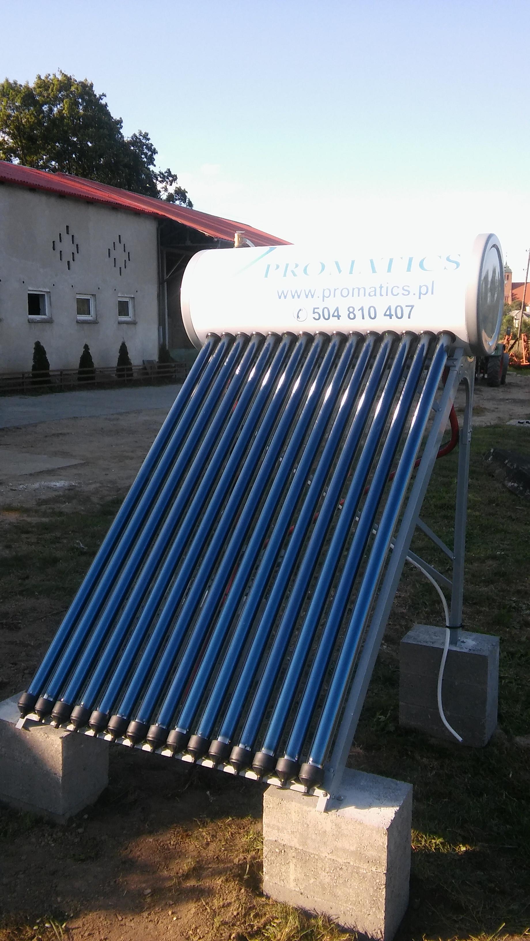 Montaż zestawu solranego Unite – Piaseczno gm. Gniew