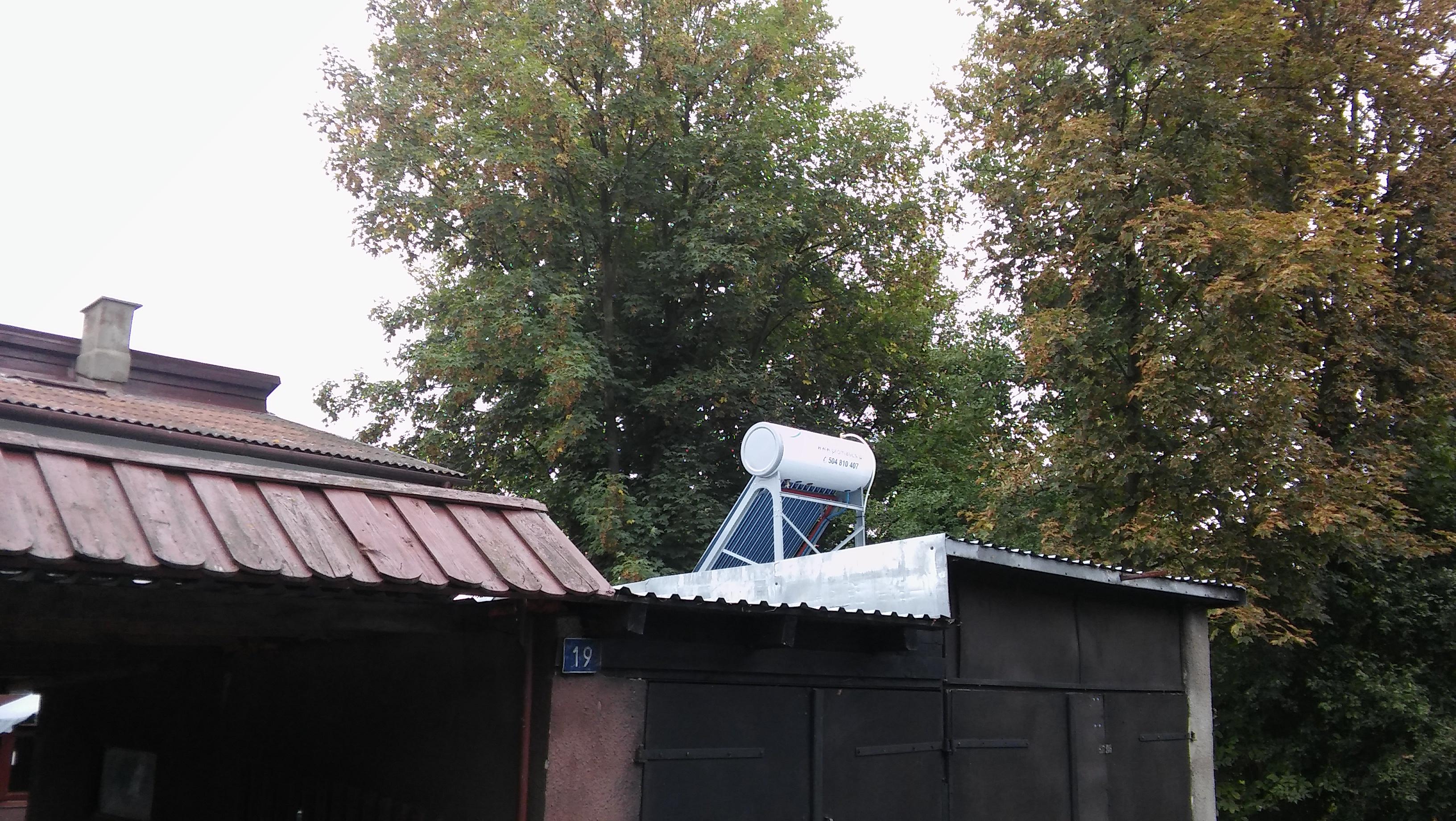 Montaż instalacji solarnej – Łobaczew Mały gm. Terepol