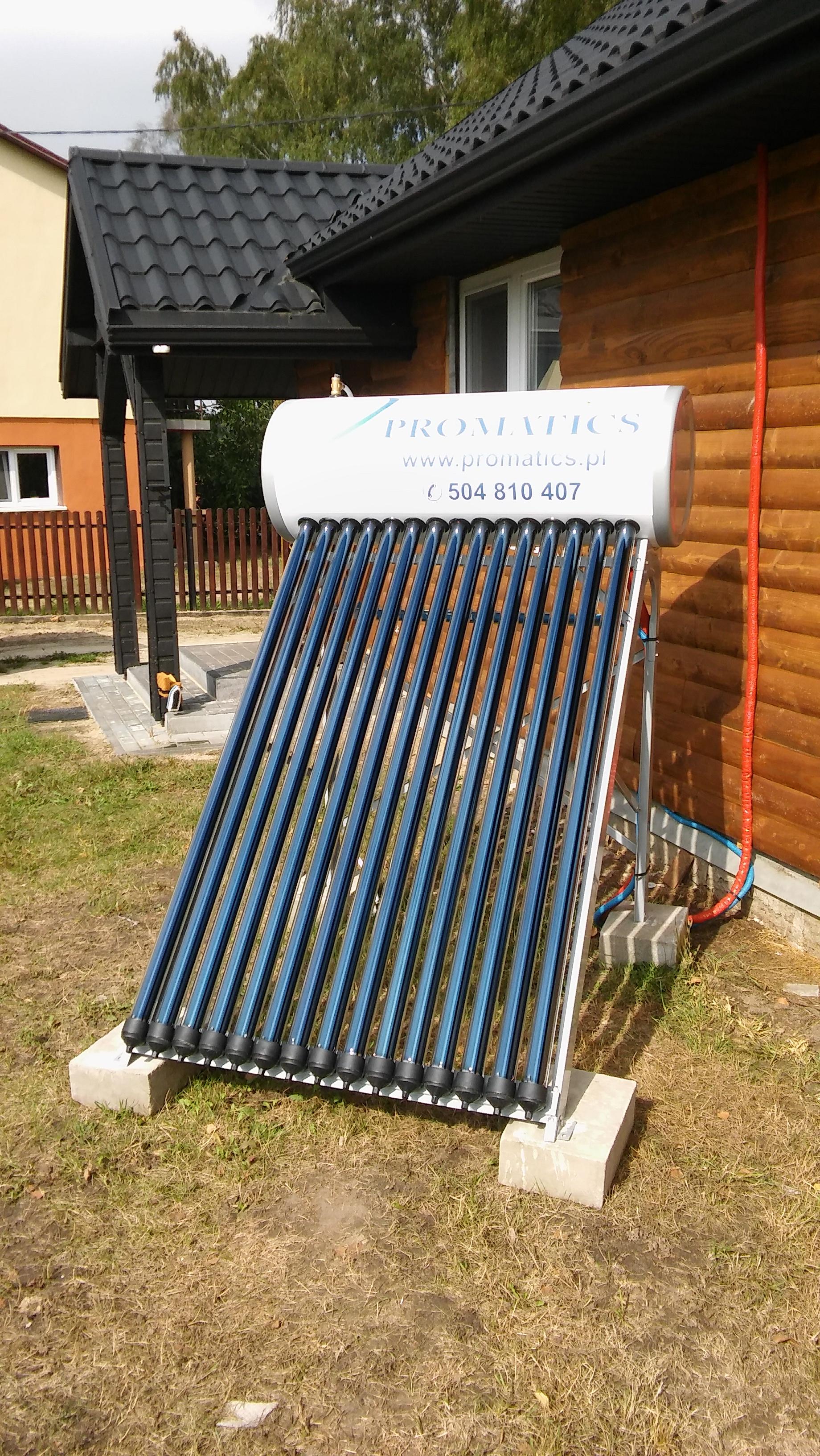 Montaż zestawu solarnego Unite – Dobratycze Kolonia gm. Terespol