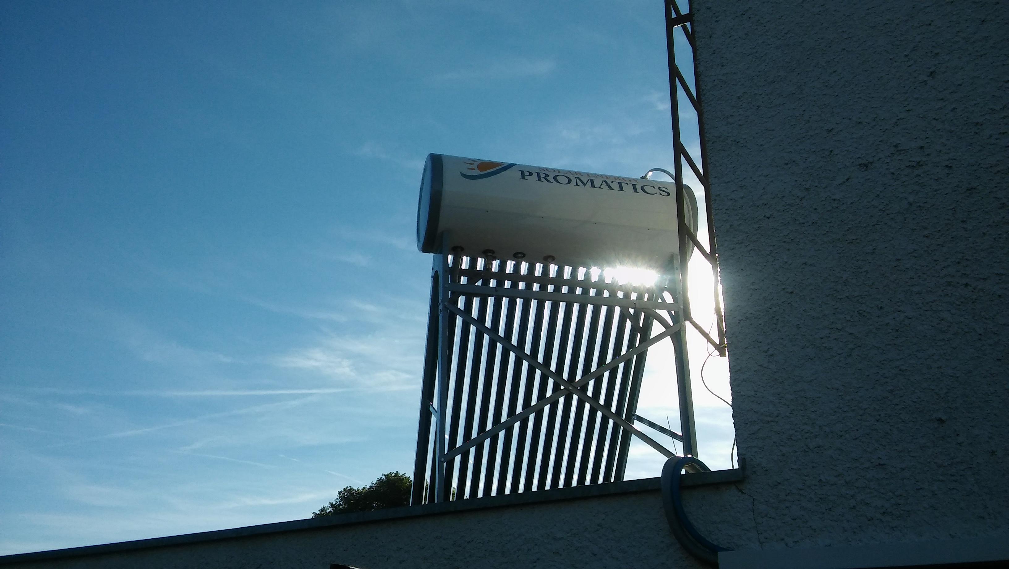 Montaż instalacji solarnej – Kąty Rybackie gm. Sztutowo
